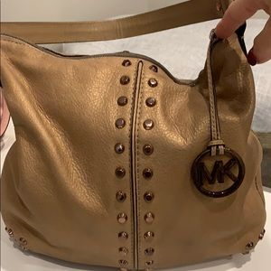 Authentic Michael Kors handbag!! Rose gold!!
